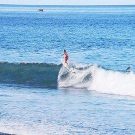Surf sport in Bali